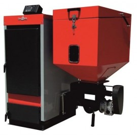 Cazan cu funcționare pe pellet-biomasă și lemne ECOBIO R 60