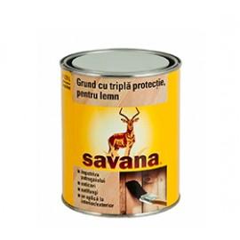Grund cu triplă protecţie, pentru lemn