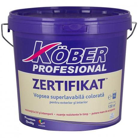 Zertifikat - Vopsele superlavabile colorate acrilice pentru exterior